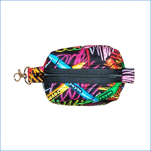 Crayon Swirls Bitty Bag