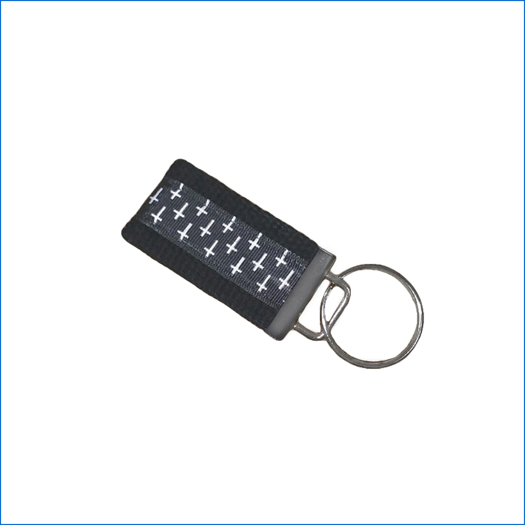 Crosses Mini Key Fob - Karen's Kases