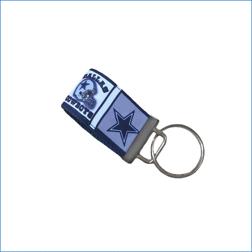 Dallas Cowboys Mini Key Fob - Karen's Kases