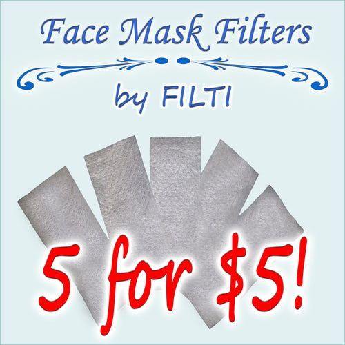 Face Mask Filters - Karen's Kases