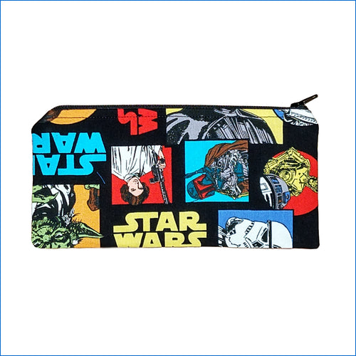 Faces of Star Wars Pencil Bag
