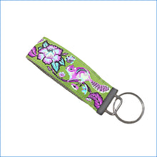 Green Squirrel Key Fob - Karen's Kases