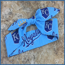 Kansas City Royal's Baby Blue Hair Tie - Karen's Kases