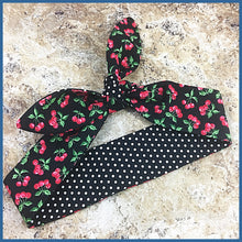 Red Cherries Hair Tie - Karen's Kases