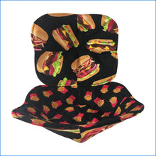 Hamburger and Fries Microwave Bowl Holder - Karen's Kases