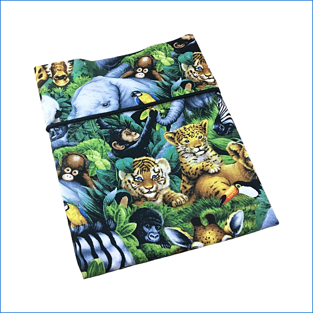 Jungle Animals Baby Pillow Kase - Karen's Kases