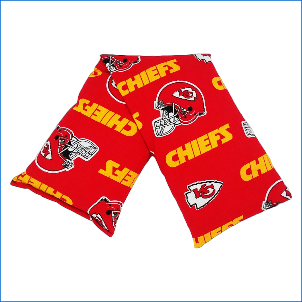 KC Chiefs Microwave Flaxseed Neck Therapy Pillow