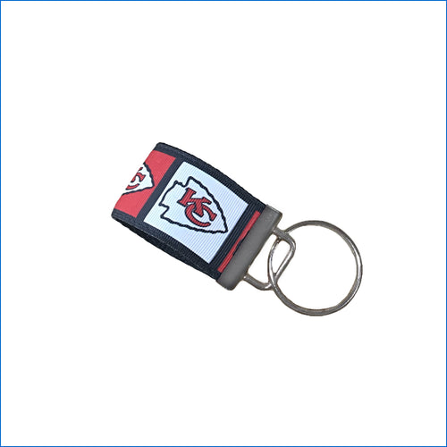 Kansas City Chiefs Mini Key Fob - Karen's Kases
