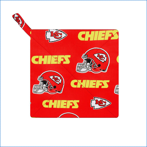 Kansas City Chief's Red Potholder