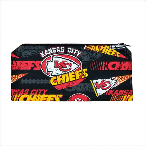 Kansas City Chiefs Black Pencil Bag