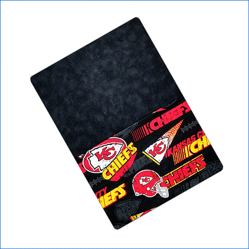 Kansas City Chiefs Black Pillow Kase