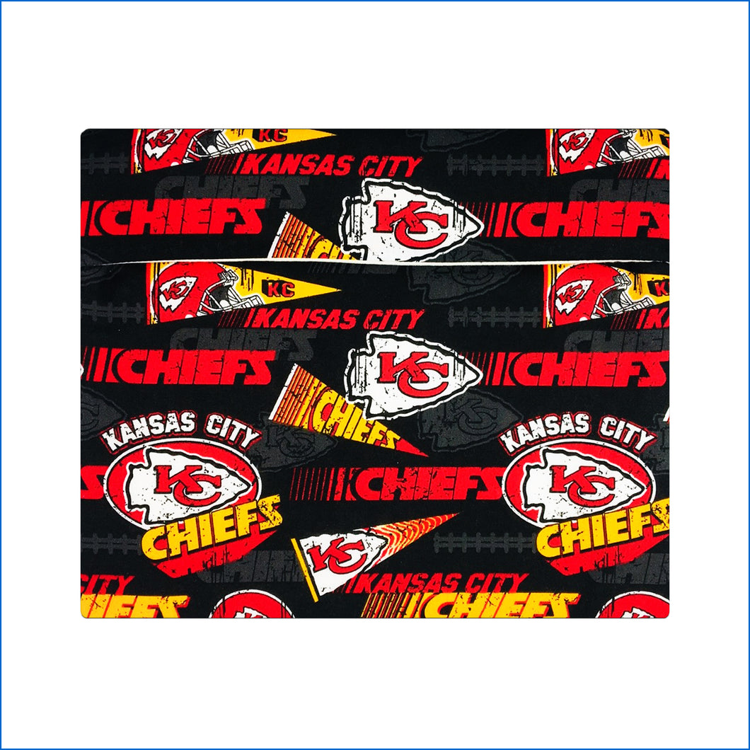 Kansas City Chiefs Black Microwave Potato Bag