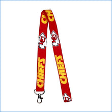 Kansas City Chiefs Big Red Lanyard