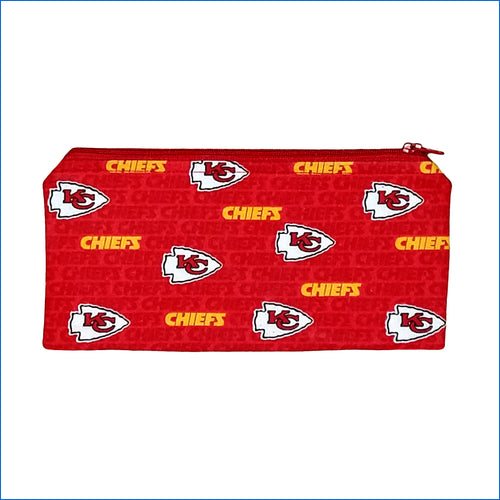 Kansas City Chiefs Red Red Pencil Bag