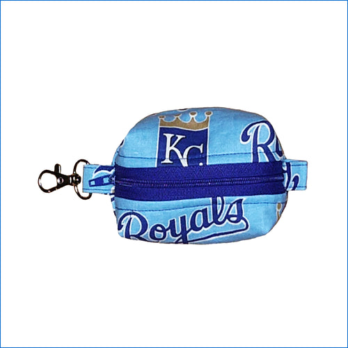 Kansas City Royals Baby Blue Bitty Bag - Karen's Kases