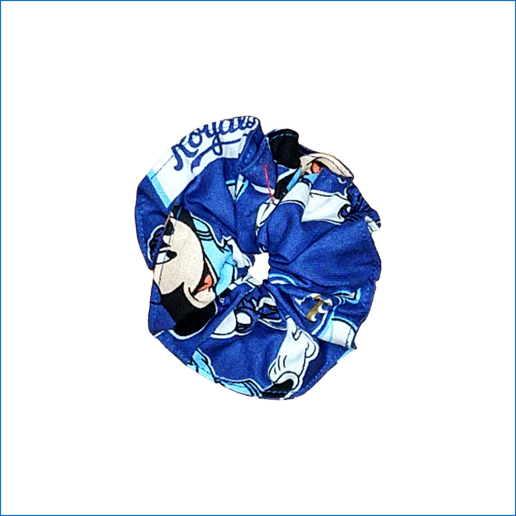 Kansas City Royals Mickey Mouse Scrunchie