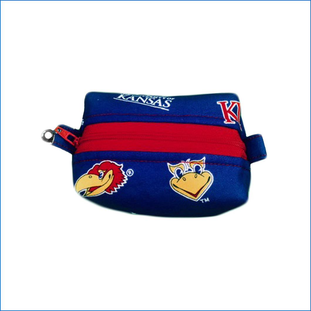 Kansas Jayhawks Bitty Bag - Karen's Kases