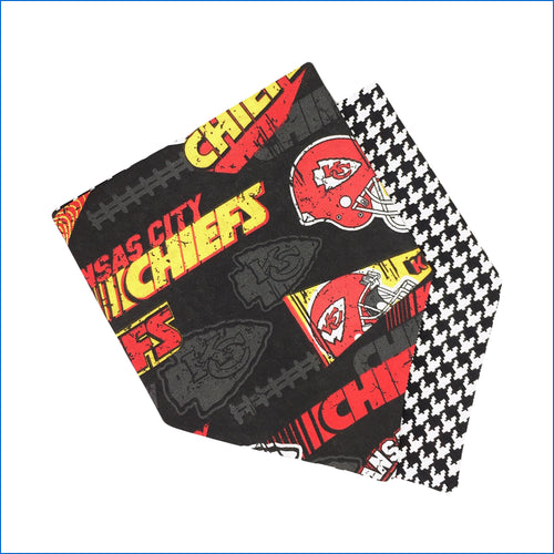 KC Chief's Dog Bandana - Karen's Kases