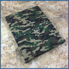 Green Camo Pillow Kase - Karen's Kases