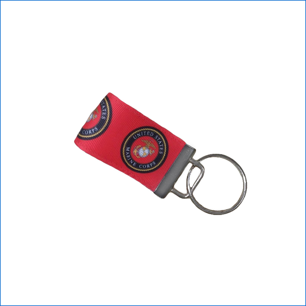 Marines Mini Key Fob - Karen's Kases