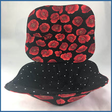Red Poppy Microwave Bowl Holder - Karen's Kases