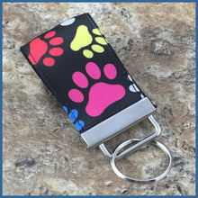 Paw Prints Mini Key Fob - Karen's Kases