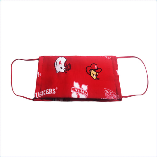 Nebraska Cornhuskers Face Mask