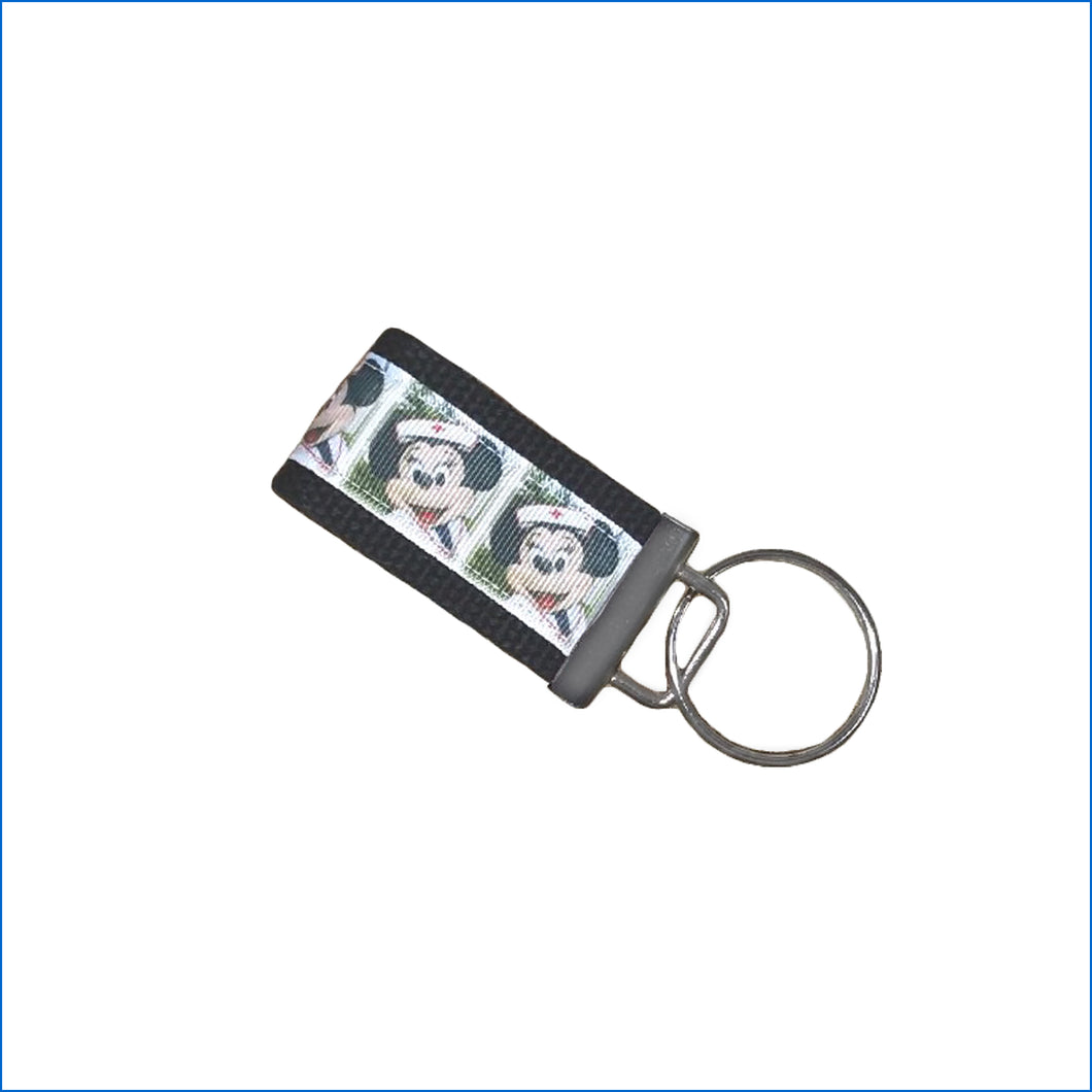 Nurse Minnie Mini Key Fob - Karen's Kases