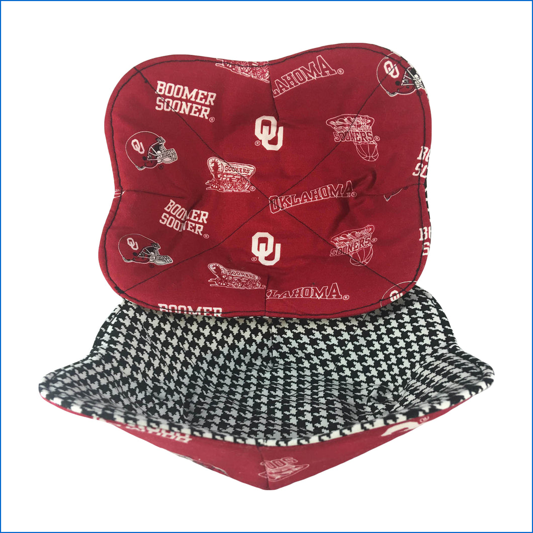 Oklahoma Sooners Microwave Bowl Holder - Karen's Kases