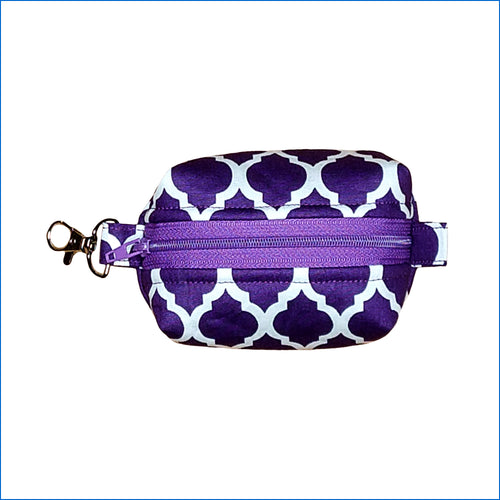 Purple Lotus Bitty Bag