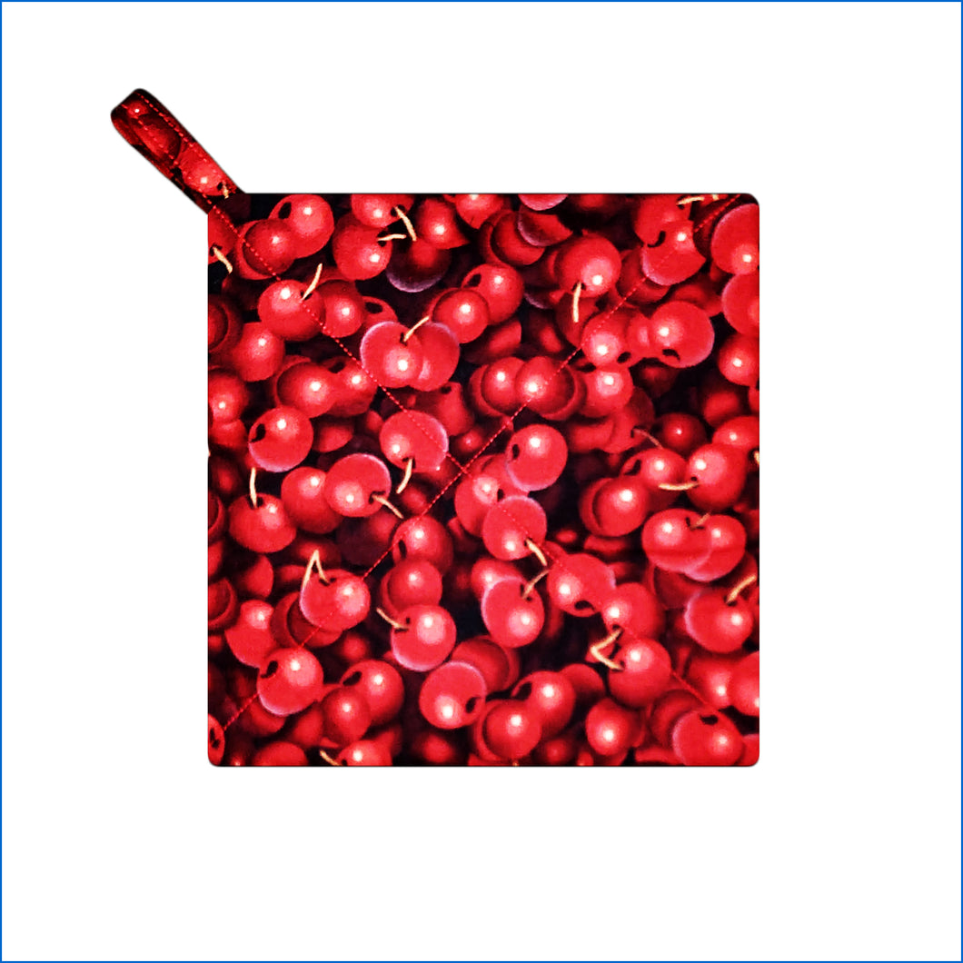 Red Cherries Potholder