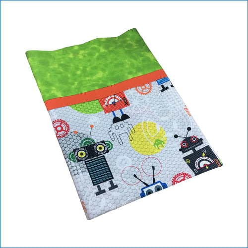 Robots Toddler Pillow Kase - Karen's Kases