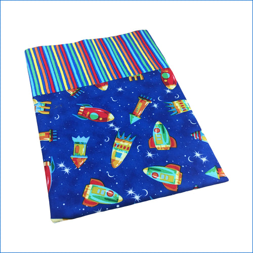 Rockets Toddler Pillow Kase - Karen's Kases
