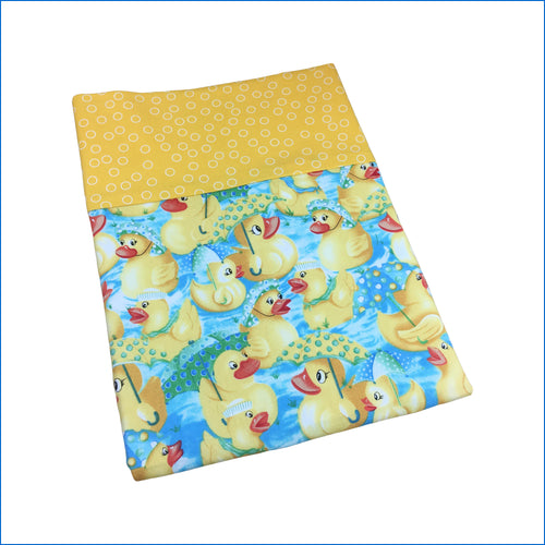 Rubber Ducks Toddler Pillow Kase - Karen's Kases