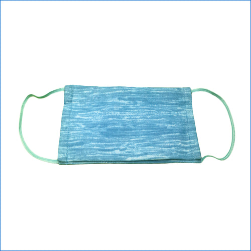 Sea Breeze Blue Face Mask - Karen's Kases