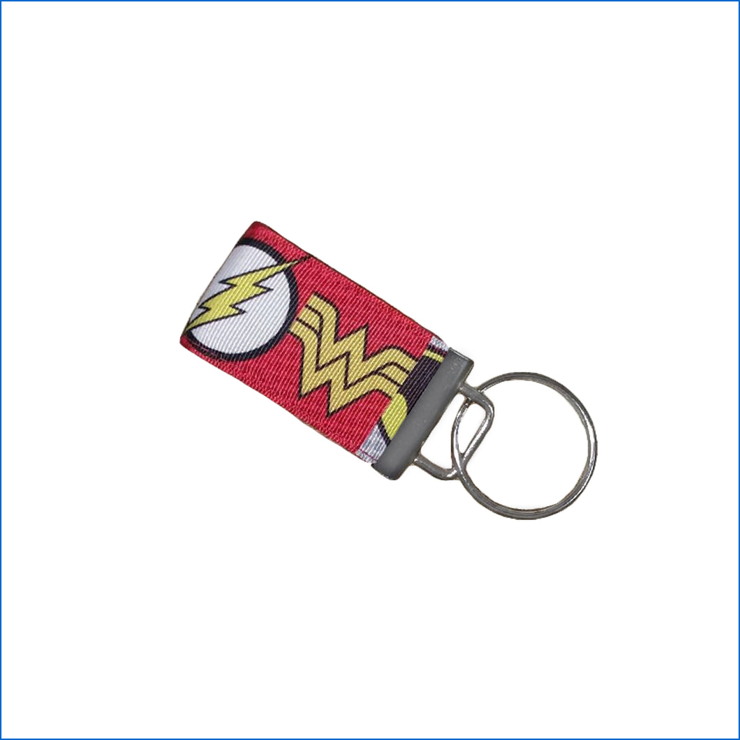 Super Heroes Mini Key Fob - Karen's Kases