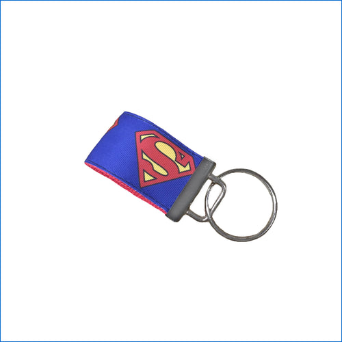 Superman Mini Key Fob - Karen's Kases