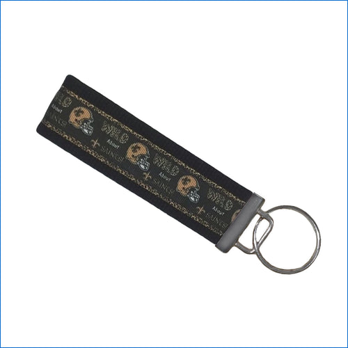 Wild about Saints Key Fob - Karen's Kases