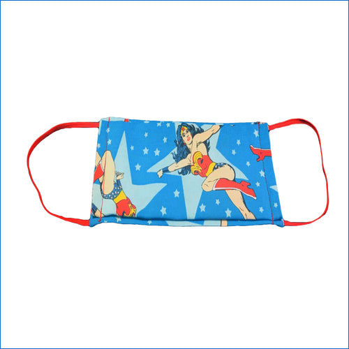 Wonder Woman Blue Face Mask