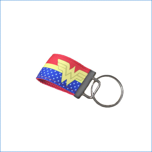 Wonder Woman Mini Key Fob - Karen's Kases