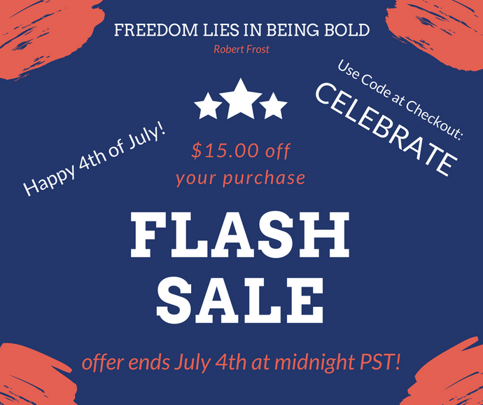 July 4th FLASH SALE