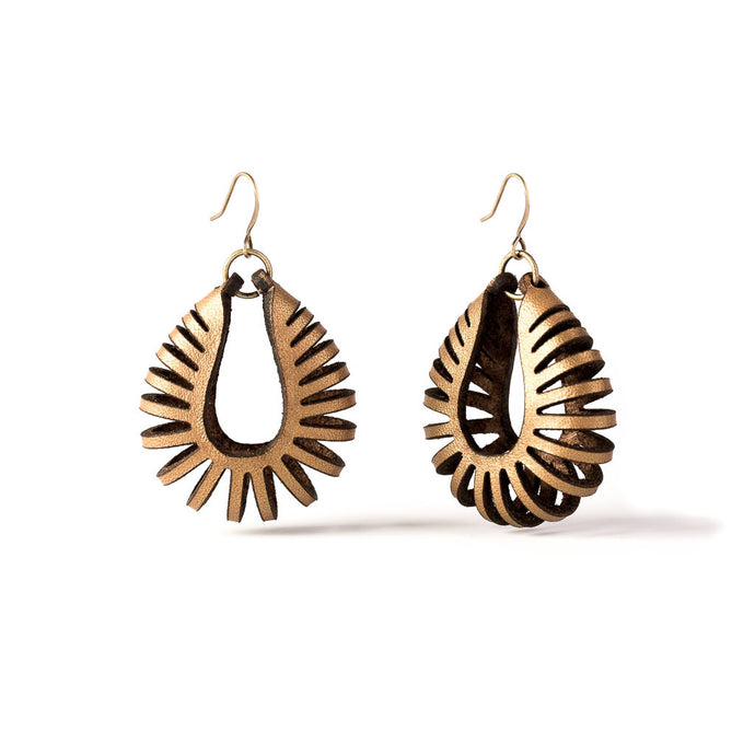 Nautilus Petite Earrings | Kristina Michelle Jewelry