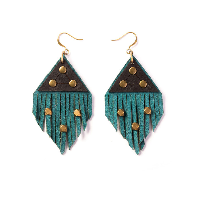 Fringe Earrings | Kristina Michelle Jewelry