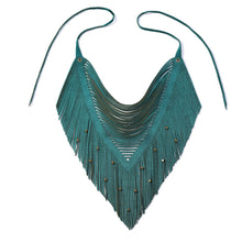 Skaarf Suede Necklace | Kristina Michelle Jewelry