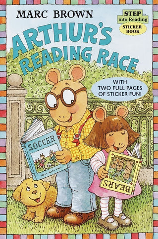 Arthur's Reading Race (Sticker Book)