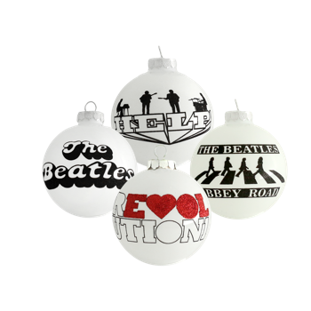 The Beatles: 4 Piece Ornament Set