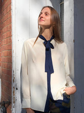 Bow Tie Blouse Silk