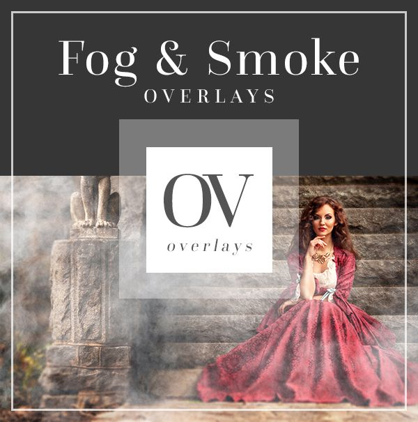 Fog Smoke Overlays for Photo Editing | Bellevue Avenue