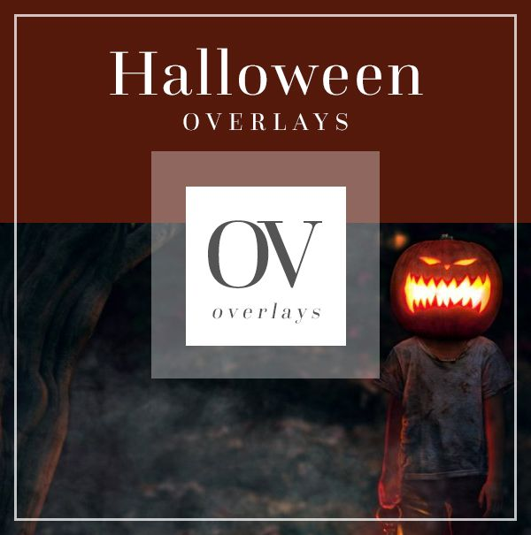 Halloween Overlays Scary | Bellevue Avenue