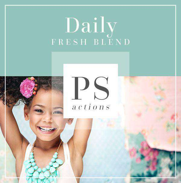 Daily Fresh Blend Photoshop Actions